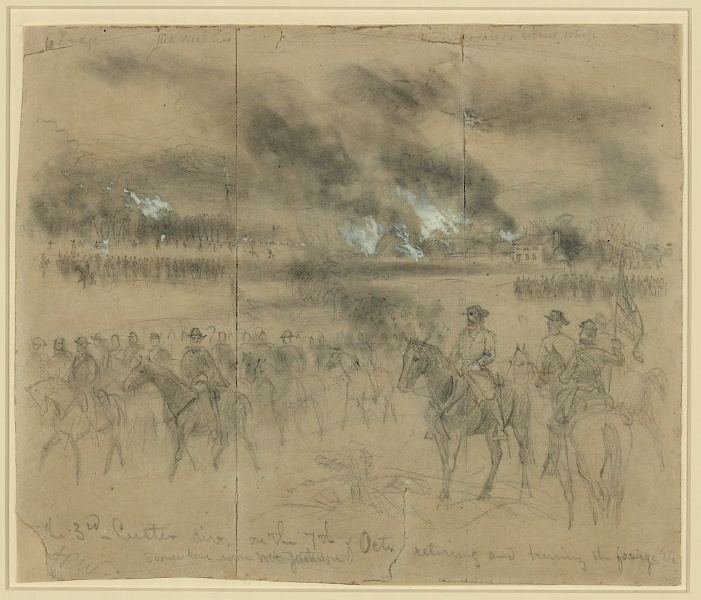 4TB1-1-The-burning-3rd-Custer-Division