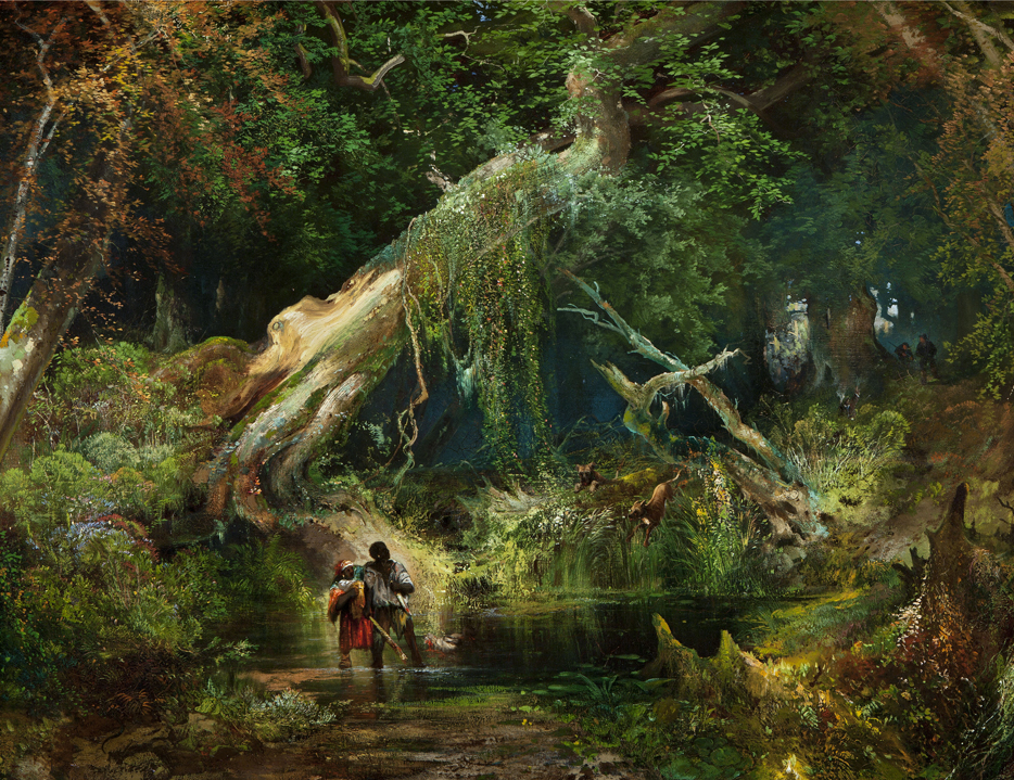 moran-slave_hunt_dismal_swamp2