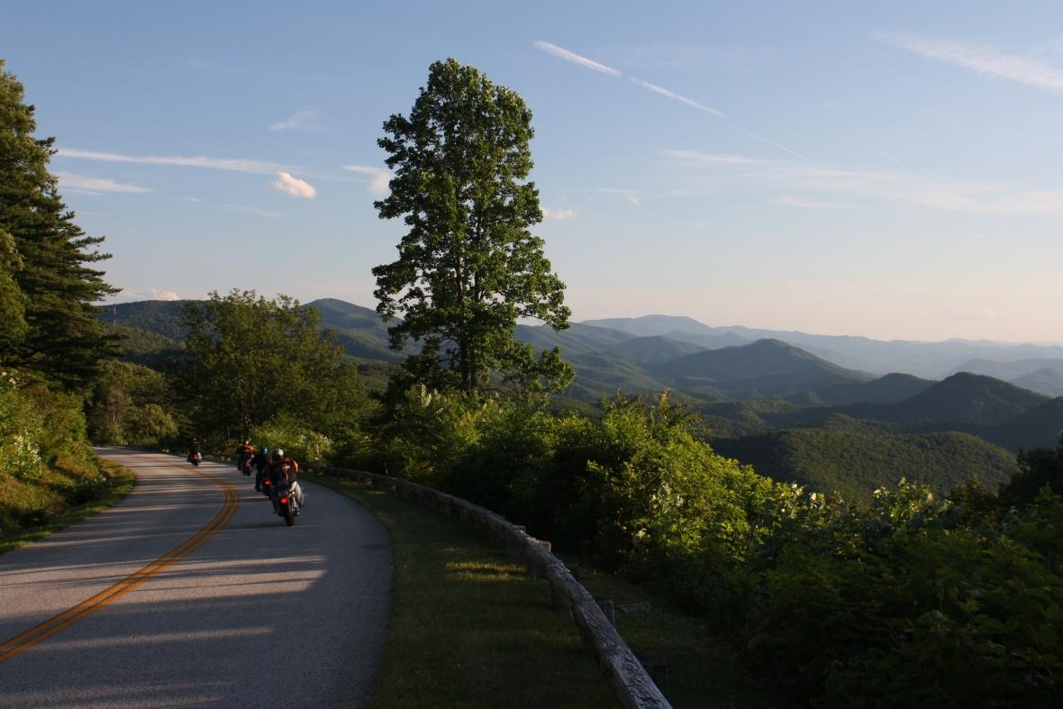 Tom Trigo-Chimney Rock Mt overlook-mile 45 (17)