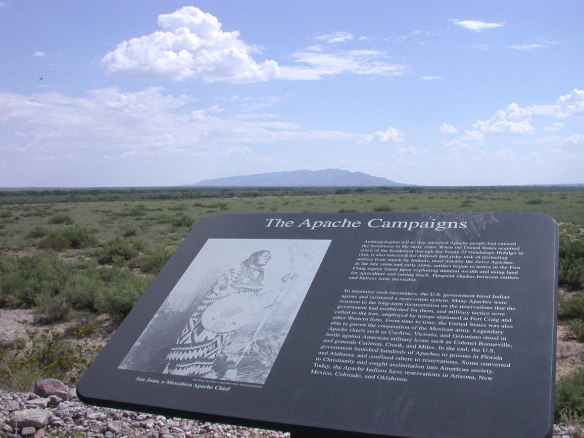 Homage to the Apache-Fort Craig NHS-Tomas Trigo