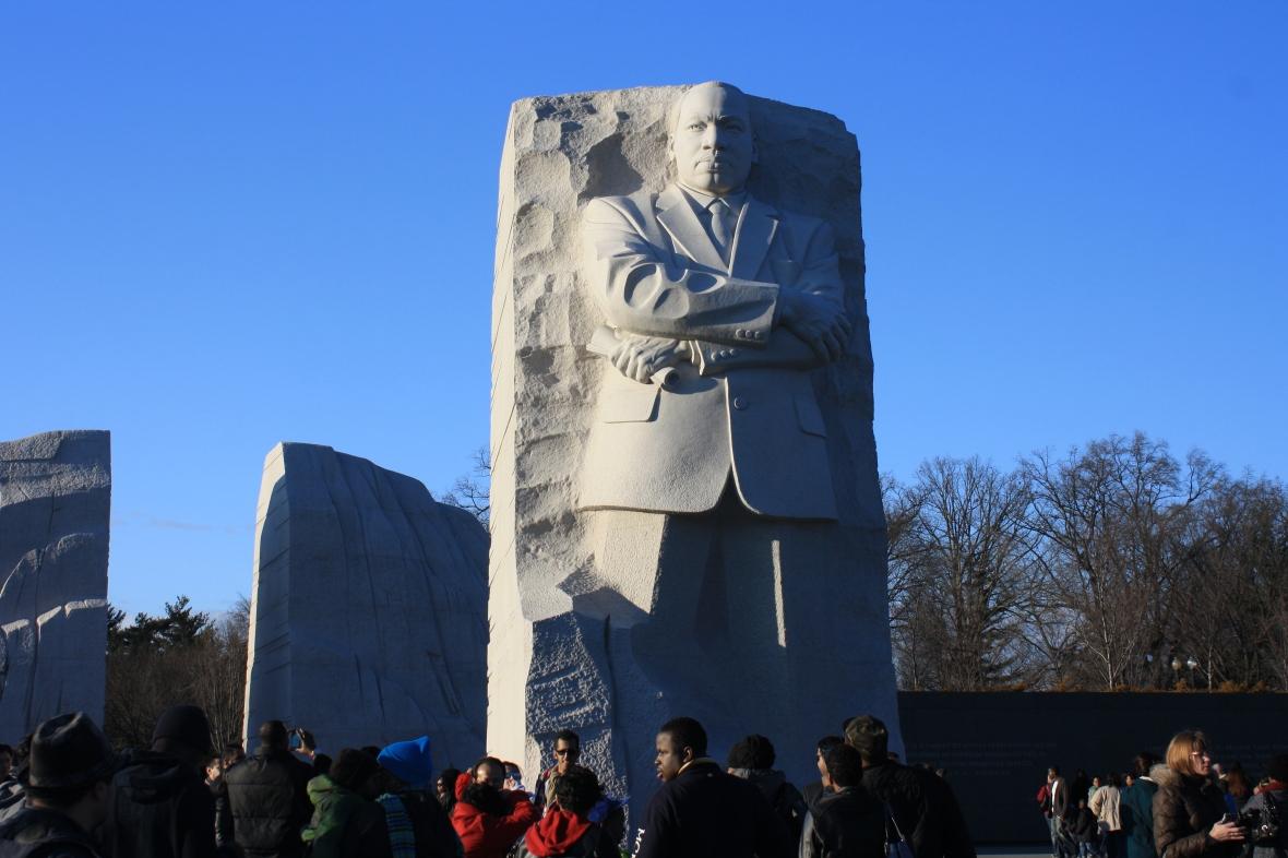 Washington DC-Jan 28-MLK Memorial (3)