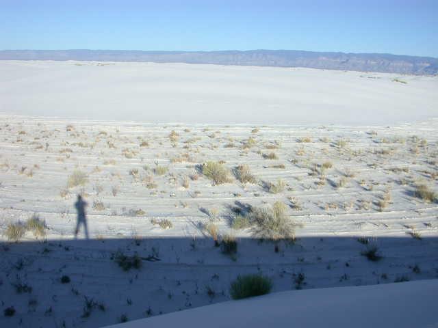 self portrait-White Sands